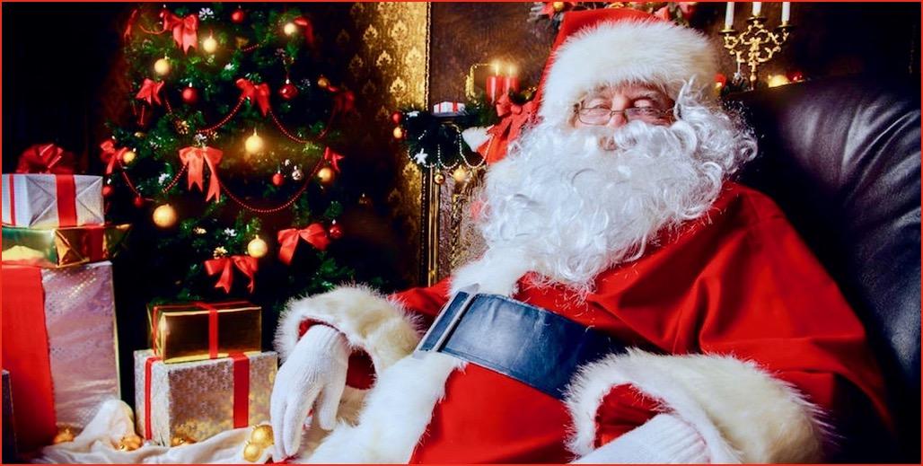 I Babbo Natale.Babbo Natale A Domicilio Direttamente A Casa Tua A Roma E